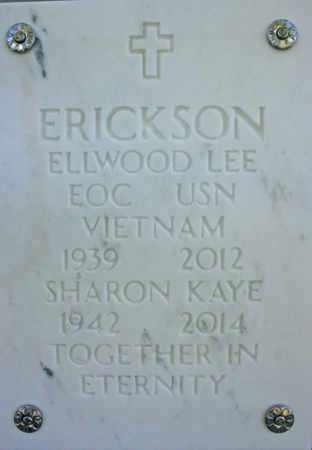 ERICKSON, ELLWOOD LEE - Yavapai County, Arizona   ELLWOOD LEE ERICKSON - Arizona Gravestone Photos