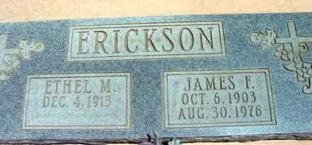ERICKSON, JAMES F. - Yavapai County, Arizona | JAMES F. ERICKSON - Arizona Gravestone Photos