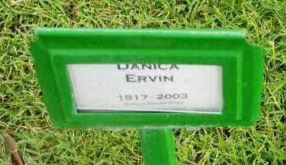 ERVIN, DANICA - Yavapai County, Arizona | DANICA ERVIN - Arizona Gravestone Photos
