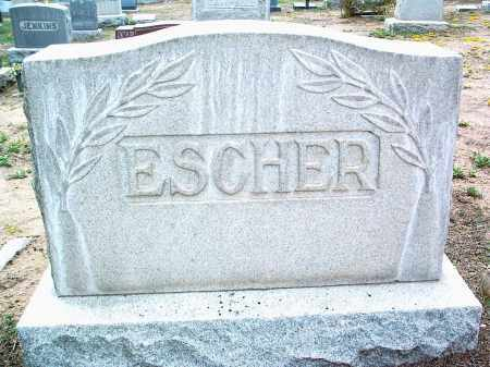 ESCHER, FAMILY HEADSTONE - Yavapai County, Arizona | FAMILY HEADSTONE ESCHER - Arizona Gravestone Photos