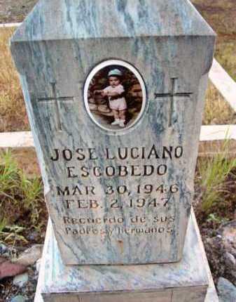 ESCOBEDO, JOSE LUCIANO - Yavapai County, Arizona   JOSE LUCIANO ESCOBEDO - Arizona Gravestone Photos