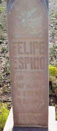 ESPINO, FELIPE - Yavapai County, Arizona   FELIPE ESPINO - Arizona Gravestone Photos