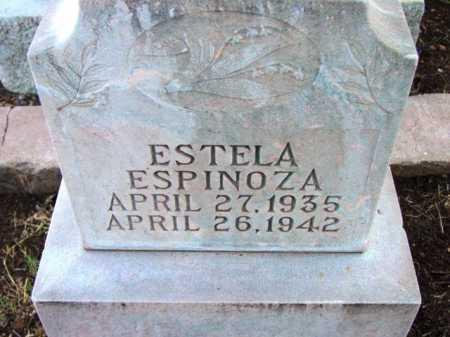 ESPINOZA, ESTELA - Yavapai County, Arizona | ESTELA ESPINOZA - Arizona Gravestone Photos