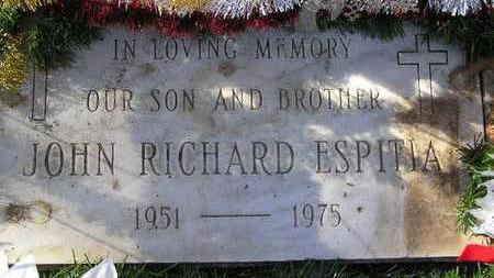 ESPITIA, JOHN RICHARD - Yavapai County, Arizona | JOHN RICHARD ESPITIA - Arizona Gravestone Photos