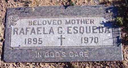 GARCIA ESQUEDA, RAFAELA G. - Yavapai County, Arizona | RAFAELA G. GARCIA ESQUEDA - Arizona Gravestone Photos
