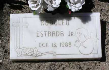 ESTRADA, RODOLFO, JR. - Yavapai County, Arizona | RODOLFO, JR. ESTRADA - Arizona Gravestone Photos