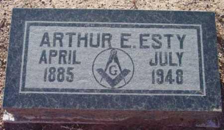 ESTY, ARTHUR ELMORE - Yavapai County, Arizona | ARTHUR ELMORE ESTY - Arizona Gravestone Photos