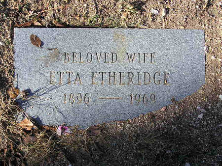 ETHERIDGE, ETTA - Yavapai County, Arizona | ETTA ETHERIDGE - Arizona Gravestone Photos