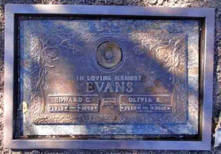EVANS, EDWARD CHARLES - Yavapai County, Arizona | EDWARD CHARLES EVANS - Arizona Gravestone Photos