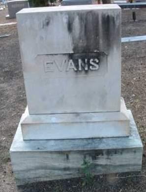 EVANS, FAMILY HEADSTONE - Yavapai County, Arizona | FAMILY HEADSTONE EVANS - Arizona Gravestone Photos