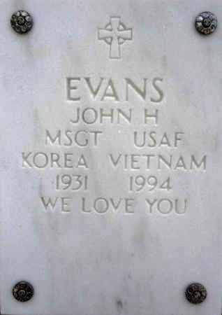 EVANS, JOHN H. - Yavapai County, Arizona | JOHN H. EVANS - Arizona Gravestone Photos