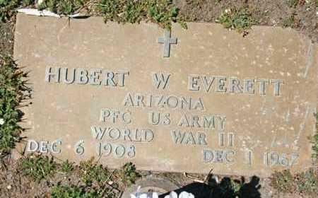 EVERETT, HUBERT W. - Yavapai County, Arizona   HUBERT W. EVERETT - Arizona Gravestone Photos