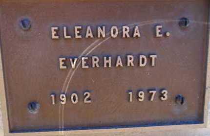 EVERHARDT, ELEANORA E. - Yavapai County, Arizona | ELEANORA E. EVERHARDT - Arizona Gravestone Photos