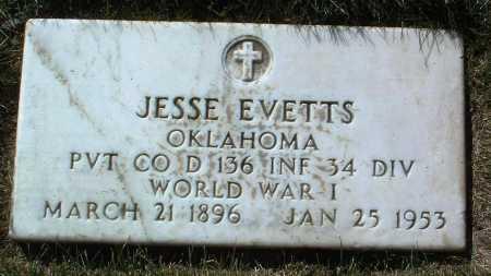 EVETTS, JESSE - Yavapai County, Arizona | JESSE EVETTS - Arizona Gravestone Photos