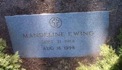 EWING, MANDELINE - Yavapai County, Arizona | MANDELINE EWING - Arizona Gravestone Photos