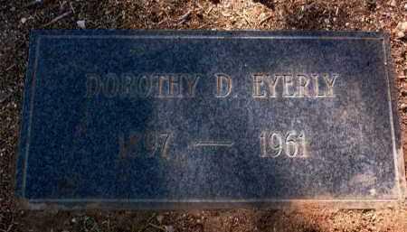 EYERLY, DOROTHY C. - Yavapai County, Arizona | DOROTHY C. EYERLY - Arizona Gravestone Photos