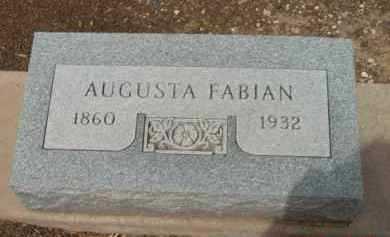 FABIAN, AUGUSTA - Yavapai County, Arizona | AUGUSTA FABIAN - Arizona Gravestone Photos