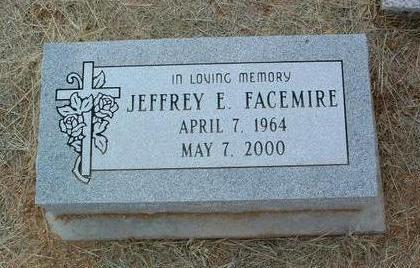 FACEMIRE, JEFFREY E. - Yavapai County, Arizona | JEFFREY E. FACEMIRE - Arizona Gravestone Photos