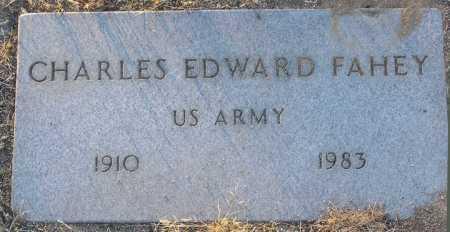 FAHEY, CHARLES EDWARD - Yavapai County, Arizona | CHARLES EDWARD FAHEY - Arizona Gravestone Photos