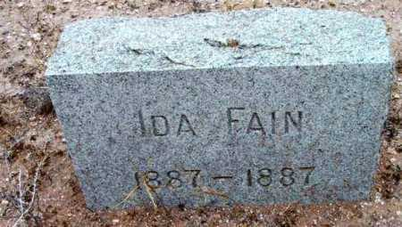 FAIN, IDA - Yavapai County, Arizona | IDA FAIN - Arizona Gravestone Photos
