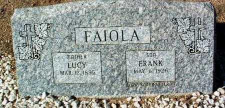 FAIOLA, LUCY - Yavapai County, Arizona | LUCY FAIOLA - Arizona Gravestone Photos