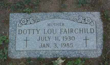 DOUGLASS FAIRCHILD, DOTTY - Yavapai County, Arizona | DOTTY DOUGLASS FAIRCHILD - Arizona Gravestone Photos