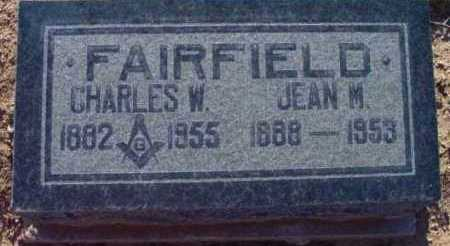 FAIRFIELD, CHARLES WILLIAM - Yavapai County, Arizona | CHARLES WILLIAM FAIRFIELD - Arizona Gravestone Photos
