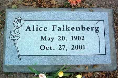 FALKENBERG, ALICE D. - Yavapai County, Arizona | ALICE D. FALKENBERG - Arizona Gravestone Photos