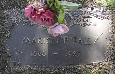 FALL, MARION P. - Yavapai County, Arizona | MARION P. FALL - Arizona Gravestone Photos