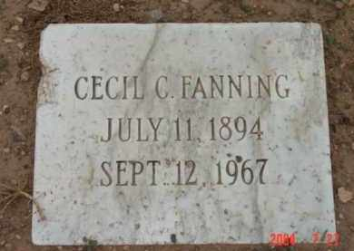 CASE FANNING, CECIL C. - Yavapai County, Arizona | CECIL C. CASE FANNING - Arizona Gravestone Photos