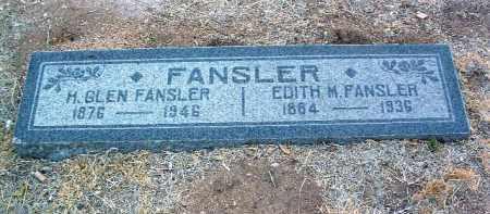 FANSLER, EDITH MYRTLE - Yavapai County, Arizona | EDITH MYRTLE FANSLER - Arizona Gravestone Photos
