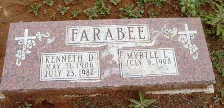 STONECIPHER FARABEE, MYRTLE L. - Yavapai County, Arizona | MYRTLE L. STONECIPHER FARABEE - Arizona Gravestone Photos