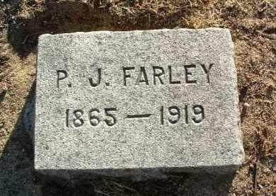 FARLEY, PATRICK J. - Yavapai County, Arizona   PATRICK J. FARLEY - Arizona Gravestone Photos