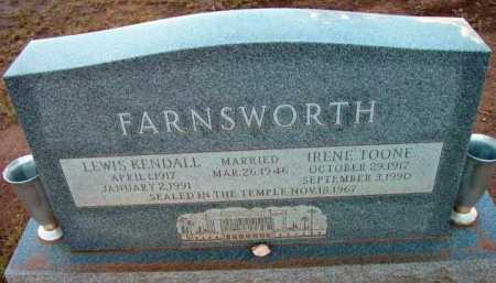 FARNSWORTH, IRENE - Yavapai County, Arizona | IRENE FARNSWORTH - Arizona Gravestone Photos