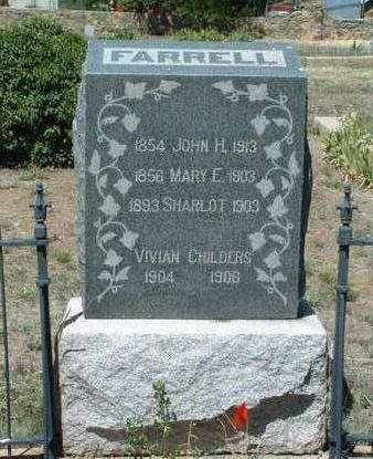FARRELL, MARY E. - Yavapai County, Arizona | MARY E. FARRELL - Arizona Gravestone Photos