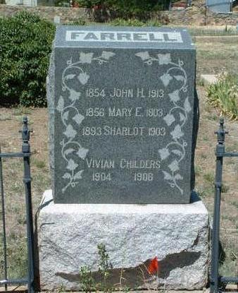 FARRELL, SHARLOT - Yavapai County, Arizona | SHARLOT FARRELL - Arizona Gravestone Photos