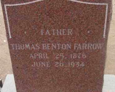 FARROW, THOMAS BENTON - Yavapai County, Arizona | THOMAS BENTON FARROW - Arizona Gravestone Photos