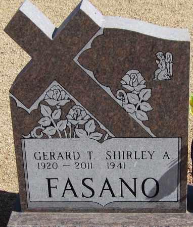 FASANO, GERARD THEODORE (JERRY) - Yavapai County, Arizona   GERARD THEODORE (JERRY) FASANO - Arizona Gravestone Photos