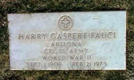 FAUCI, HARRY GASPERE - Yavapai County, Arizona | HARRY GASPERE FAUCI - Arizona Gravestone Photos