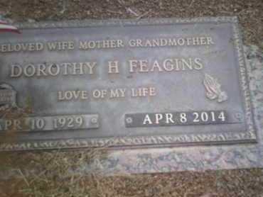 FEAGINS, DOROTHY HELEN - Yavapai County, Arizona | DOROTHY HELEN FEAGINS - Arizona Gravestone Photos