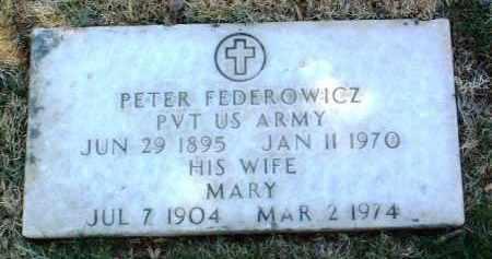 FEDEROWICZ, MARY - Yavapai County, Arizona | MARY FEDEROWICZ - Arizona Gravestone Photos