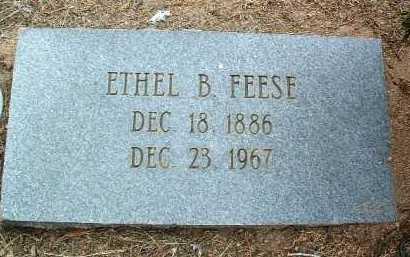 FEESE, ETHEL B. - Yavapai County, Arizona | ETHEL B. FEESE - Arizona Gravestone Photos