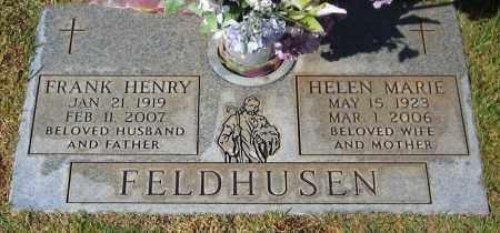 FELDHUSEN, FRANK HENRY - Yavapai County, Arizona | FRANK HENRY FELDHUSEN - Arizona Gravestone Photos