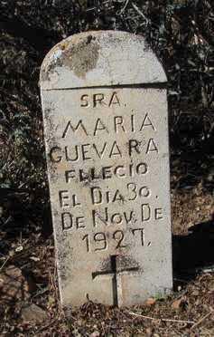 GUEVARA, MARIA - Yavapai County, Arizona | MARIA GUEVARA - Arizona Gravestone Photos