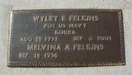 FELKINS, MELVINA A. - Yavapai County, Arizona | MELVINA A. FELKINS - Arizona Gravestone Photos