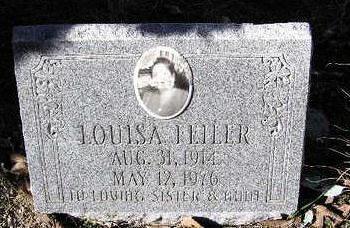 FELLER, LOUISA - Yavapai County, Arizona   LOUISA FELLER - Arizona Gravestone Photos