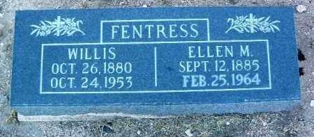 FENTRESS, ELLEN M. - Yavapai County, Arizona   ELLEN M. FENTRESS - Arizona Gravestone Photos