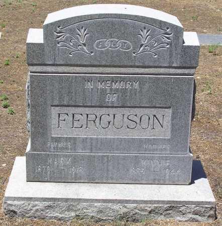 FERGUSON, MINNIE - Yavapai County, Arizona   MINNIE FERGUSON - Arizona Gravestone Photos