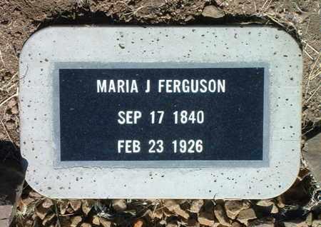 VALDEZ FERGUSON, MARIA J. - Yavapai County, Arizona | MARIA J. VALDEZ FERGUSON - Arizona Gravestone Photos