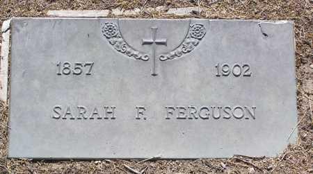 TEEL FERGUSON, SARAH FRANCES - Yavapai County, Arizona | SARAH FRANCES TEEL FERGUSON - Arizona Gravestone Photos